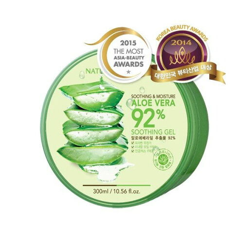 Nature Republic Soothing & Moisture Aloe Vera 92% Soothing Gel 6e3ef8a258acd08a9e956eb1428fac90