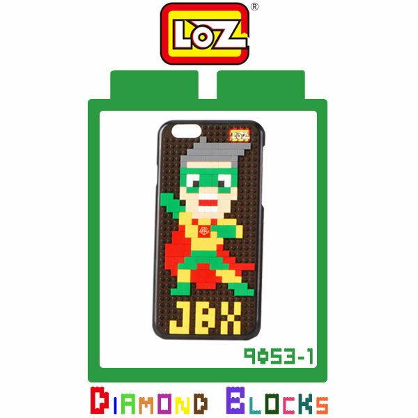 ^~斯瑪鋒 ^~LOZ Apple iPhone 6 保護殼~9053~1 煎餅俠 保護殼