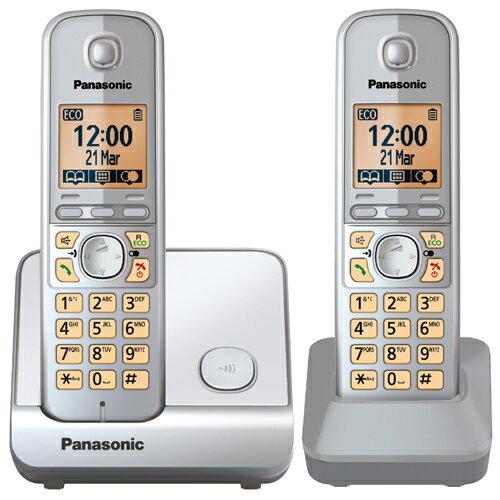 【TG6712】Panasonic 國際牌數位DECT 無線話機 KX-TG6712 TW (福利品小刮傷)