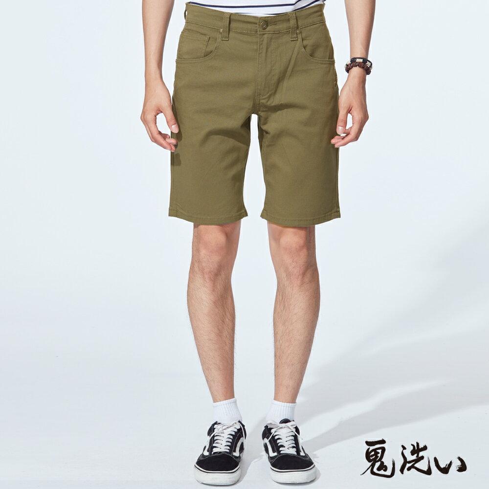【6折限定】鬼洗彈力休閒短褲(墨綠)  - BLUE WAY  ONIARAI 鬼洗 0