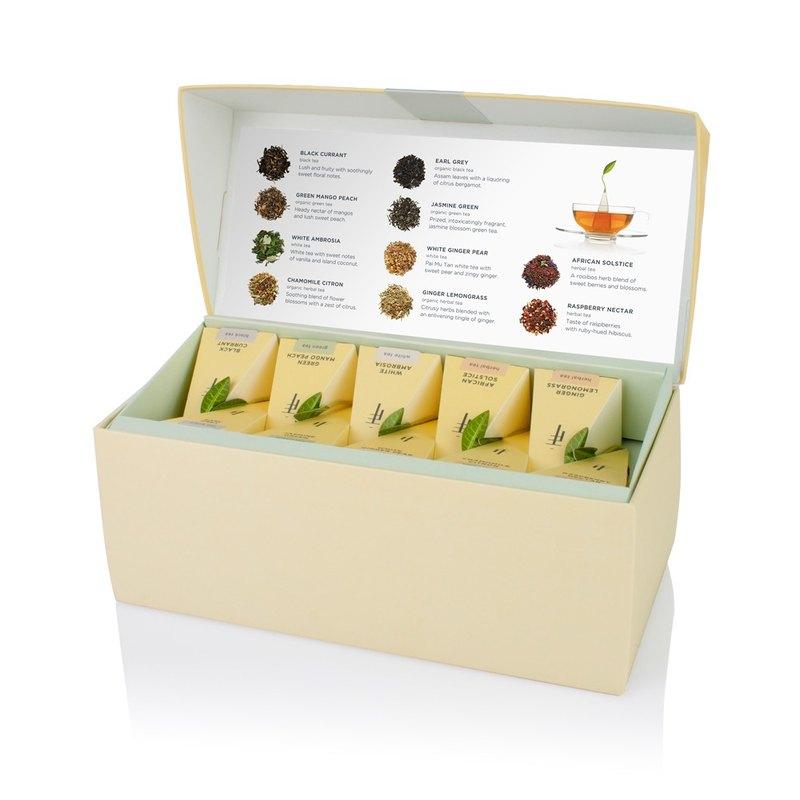 Tea Forte 20入金字塔型絲質茶包 - 饗茶集錦 Presentation Box - Tea Tasting Assortment 1