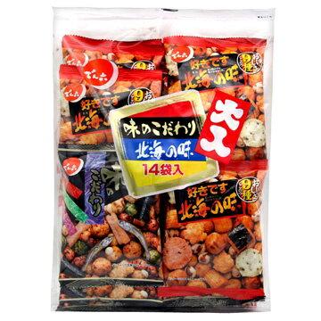 有樂町進口食品 天六 傳六 綜合豆果子(北海之味豆菓子) 1袋14入 4901930112046