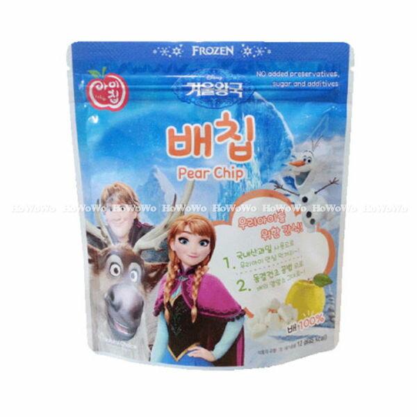 韓國 NATURAL CHOICE 自然首選 冰雪奇緣幼兒水果脆片-雪梨口味 BGC7515 好娃娃