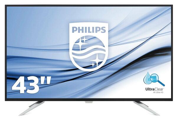 【全新福利品特價】飛利浦PhilipsBDM4350UC43吋UltraHD顯示器43型LED液晶顯示器液晶螢幕電競螢幕4K高畫質電視螢幕