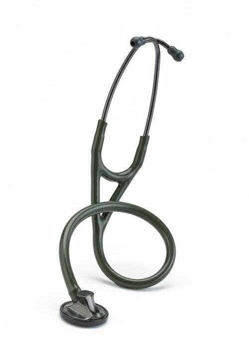 3M Littmann? 2182 心臟科精密型聽診器,橄欖綠色管/煙燻黑聽頭