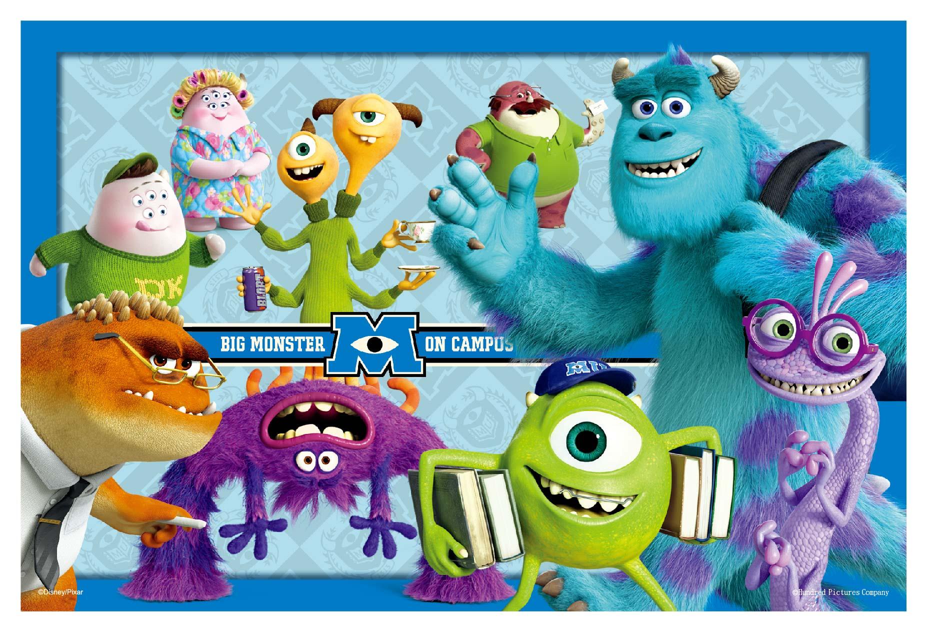 Monsters University 卡片  雙面拼圖36片