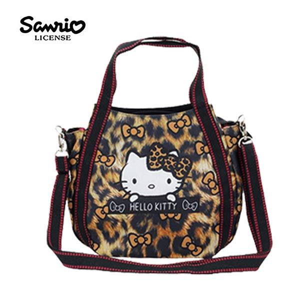4573【日本正版】凱蒂貓xMANUFATTO兩用斜背包側背包手提袋HelloKitty三麗鷗-128720