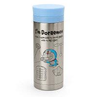 小叮噹週邊商品推薦X射線【C090002】哆啦A夢Doraemon  不鏽鋼隨手瓶340ml,隨手瓶/保溫杯/直飲式水壺/保冷保溫/環保
