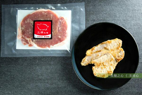 仁美良食:三源樂活豬日式豬排(280g包)