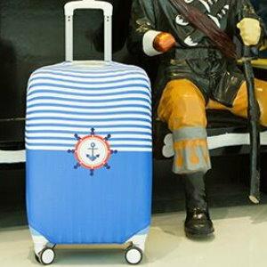 美麗大街【BF115E1E850】SAFEBET獨立印花卡通圖案彈力加厚行李箱套拉桿箱旅行防塵罩保護套(XL碼)