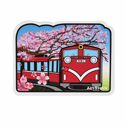 【MILU DESIGN】+PostCard>>台灣旅行明信片-阿里山/明信片(台灣景點/風景/小火車/TAIWAN)