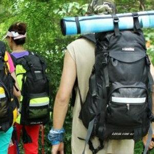 美麗大街【LF393】戶外登山包徒步野營雙肩背包旅行行李包60L