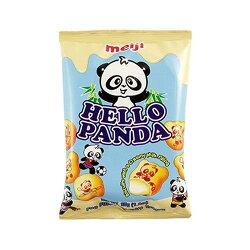 X射線【C108056】Meiji Hello Panda 夾心餅乾-牛奶,點心/零嘴/餅乾/糖果/韓國代購/日本糖果/零食/伴手禮/禮盒