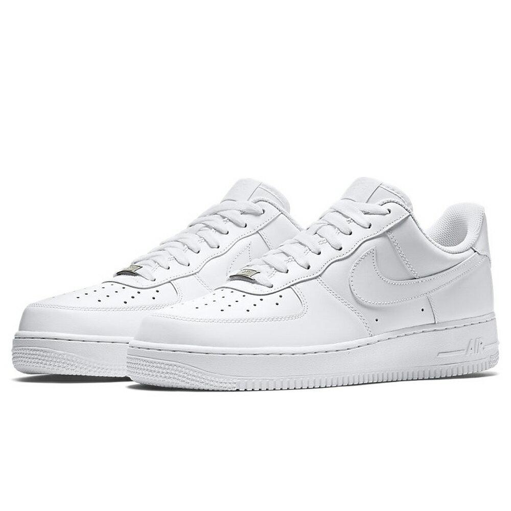Nike Air Force 1 07 男鞋 女鞋 慢跑 休閒 鐵牌 AF1 白【運動世界】 315122-111