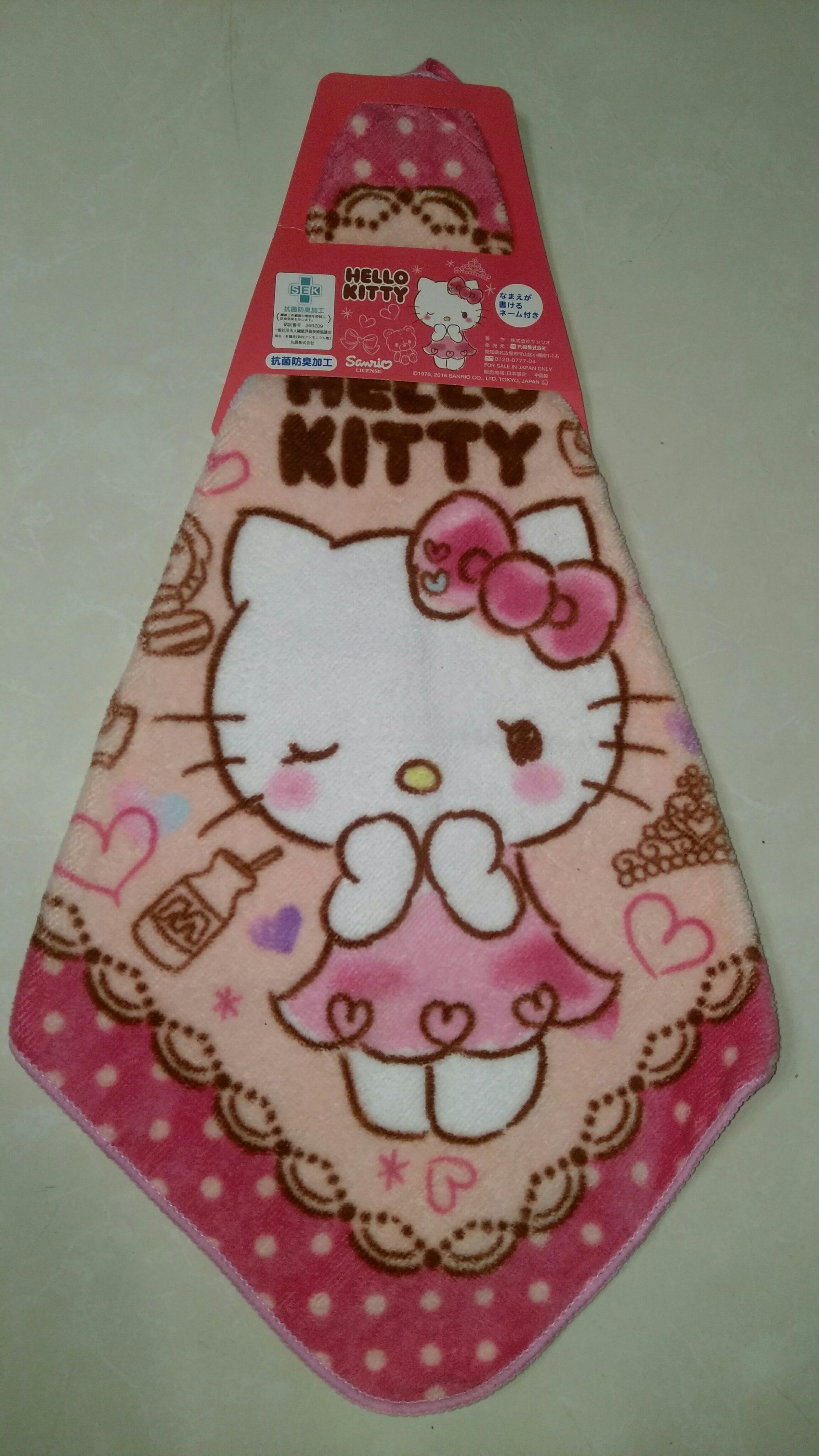HELLO KITTY擦手巾 /毛巾/浴巾/ 可用於廚房或浴室