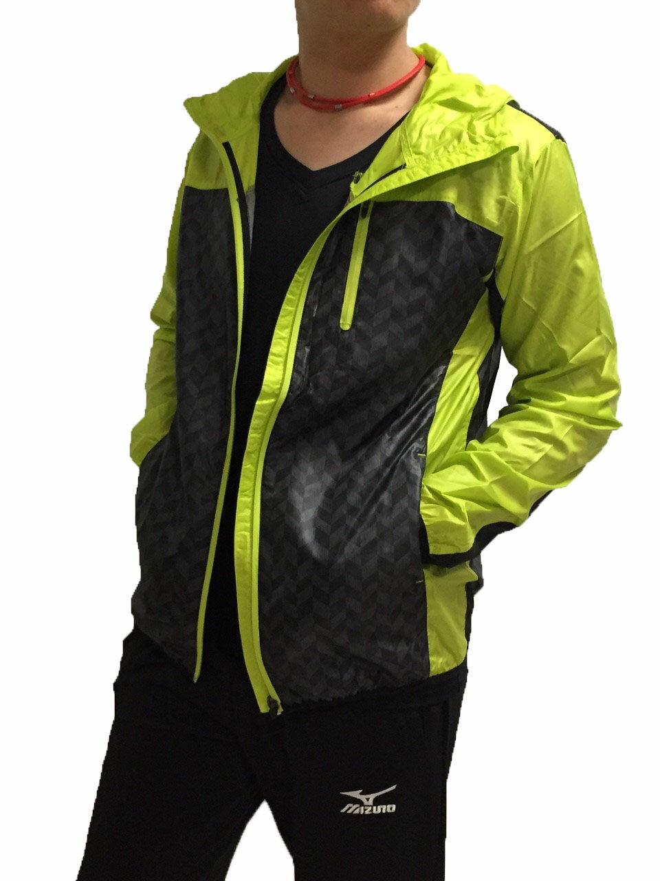 【登瑞體育】MIZUNO 路跑風衣 - J2TC558336