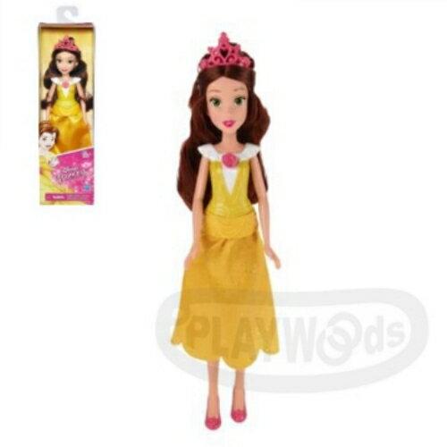 【Playwoods】[迪士尼公主DISNEY]人物角色組:美女與野獸 貝兒Belle (Bella/Bela/孩之寶Hasbro/娃娃Doll/安徒生童話/故事)