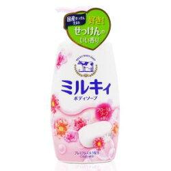 牛乳石鹼 美肌保濕沐浴乳(綜合花香)550ML