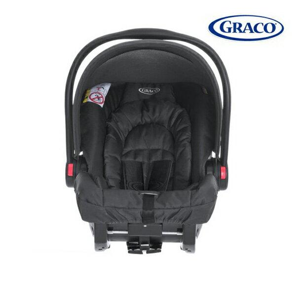 【Graco】提籃系列 SNUGRIDE嬰幼兒汽車安全座椅-史那格黑