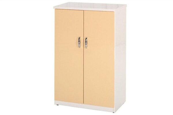 【石川家居】854-05(鵝黃白色)鞋櫃(CT-308)#訂製預購款式#環保塑鋼P無毒防霉易清潔
