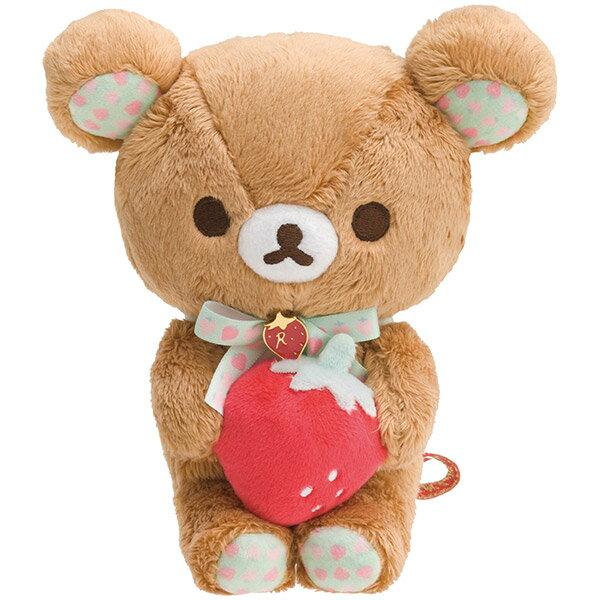 X射線【C704991】懶熊Rilakkuma15週年絨毛公仔娃娃,絨毛填充玩偶玩具公仔靠墊抱枕靠枕