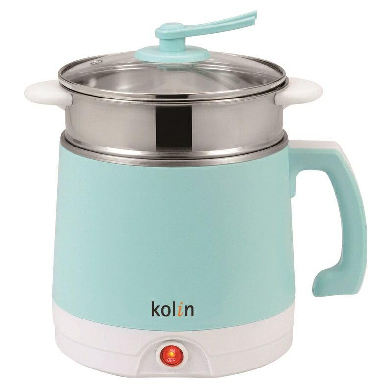 (福利品)【歌林】2公升雙層防燙不鏽鋼多功能美食鍋 KPK-LN200S 保固免運