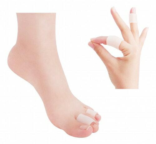 【expertgel樂捷】凝膠保護套管 | 凝膠柔軟 | 伸縮服貼 | 緩衝保護 | 滋潤肌膚 | 手指腳趾凝膠護指套(S、M、L)_入
