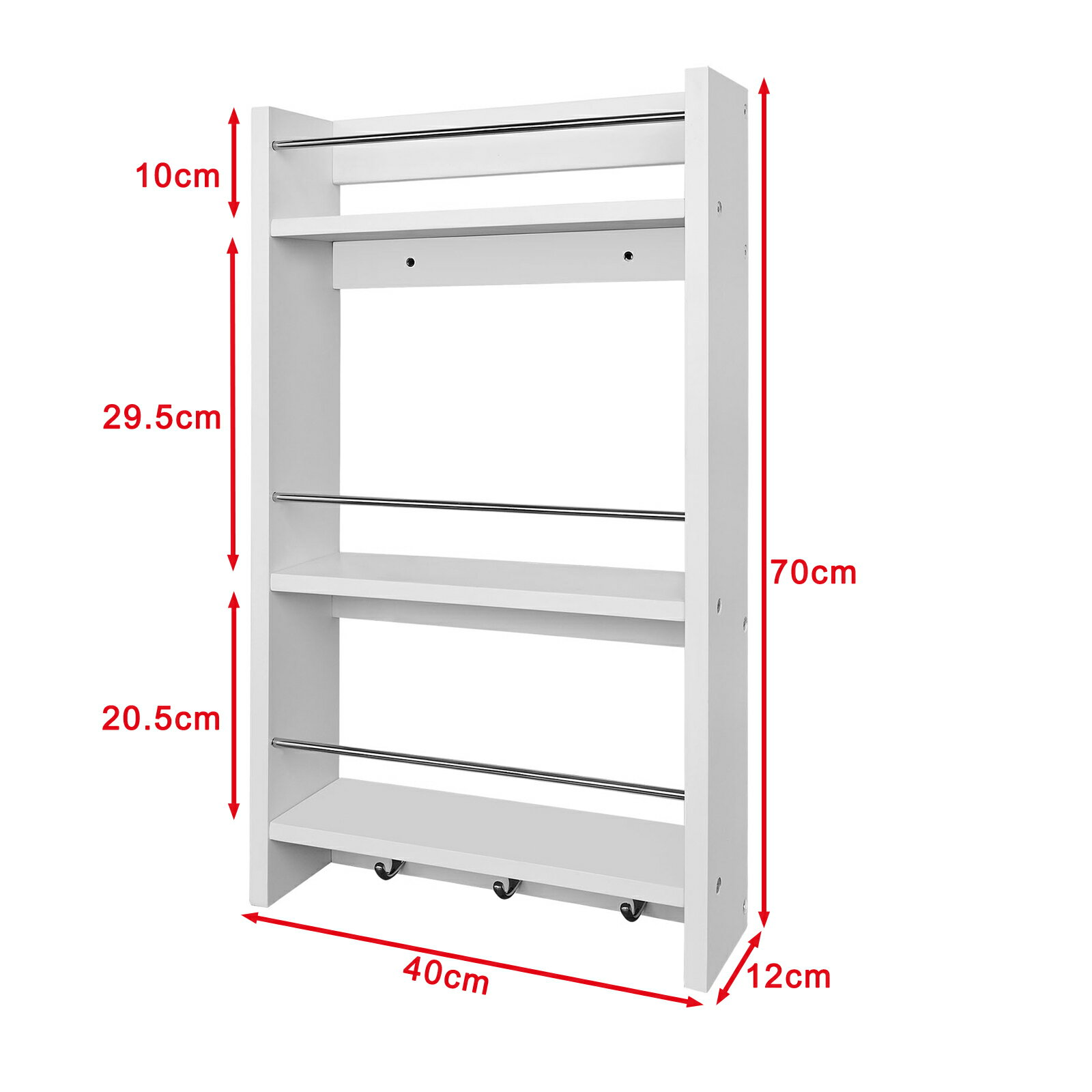 Superbe Haotian Wall Shelves,Wall Rack,Wall Cabinets ,Wall Mounted Cabinets ,Storage