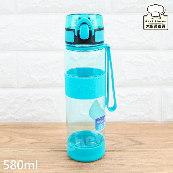 【LINE搶最低價】樂扣樂扣彈蓋水壺矽膠提帶水杯580ml冷水壺ABF961-大廚師百貨