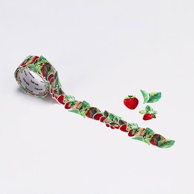 【日本Bande】紙膠帶系列自由配貼紙BDA220香甜草莓捲
