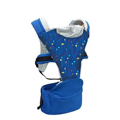 【麗嬰房】Combi Hipseat 折疊式坐墊背巾 (藍彩帶)