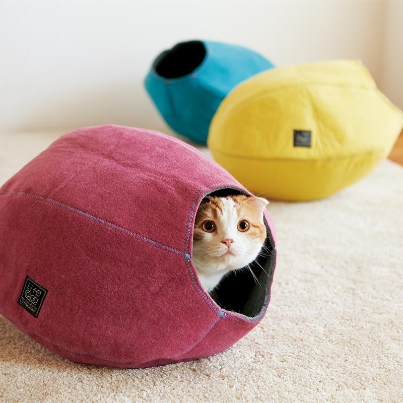 《Lifeapp》 寵愛貓窩 (馬拉加紅) 約W39xD47xH26cm