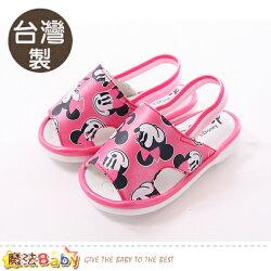 寶寶鞋 台灣製迪士尼米妮正版幼兒嗶嗶鞋 魔法Baby~sk0315