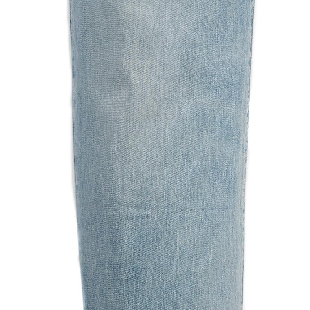Levis 男款 上寬下窄  /  502 Taper 牛仔褲  /  淺藍洗舊  /  及踝款 7
