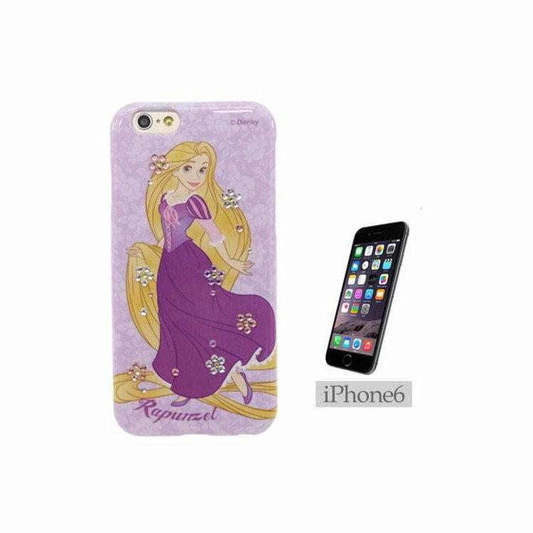 大田倉 日本進口正版iPhone6 迪士尼 Disney 魔髮奇緣 Rapunzel 手機殼 721228