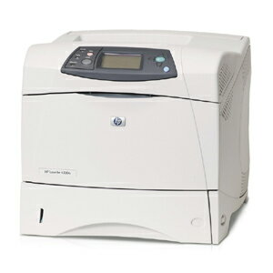HP LaserJet 4350n Laser Printer - Monochrome - 1200 x 1200 dpi Print - Plain Paper Print - Desktop - 55 ppm Mono Print - Letter, Legal, Executive, Statement, Envelope No. 10, Monarch Envelope, Custom Size - 600 sheets Standard Input Capacity - 250000 Duty 3