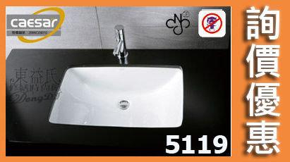 【東益氏】CAESAR凱撒LF5119/B210C正字標記抗污檯面盆台面盆洗臉盆售電光牌詢價優惠
