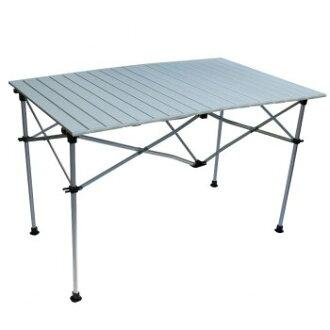 【【蘋果戶外】】Go Sport 92348 六人鋁合金蛋捲桌 兩段式 40 70公分 六人鋁捲桌 折合桌 摺疊桌 (附收納袋)