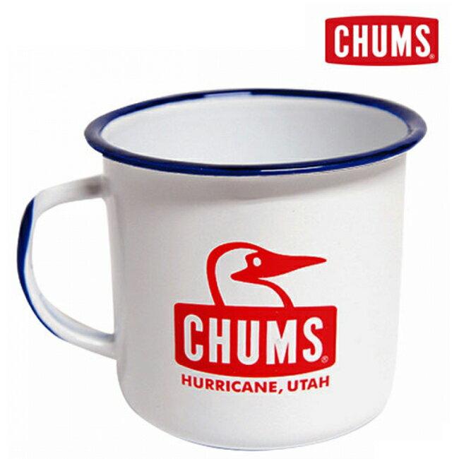 【鄉野情戶外用品店】 CHUMS |日本|  BoobyFace 琺瑯杯-S/CH62-1051-W001