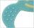 Richell利其爾 - 固齒器 水藍色有聲音 (盒裝) 4