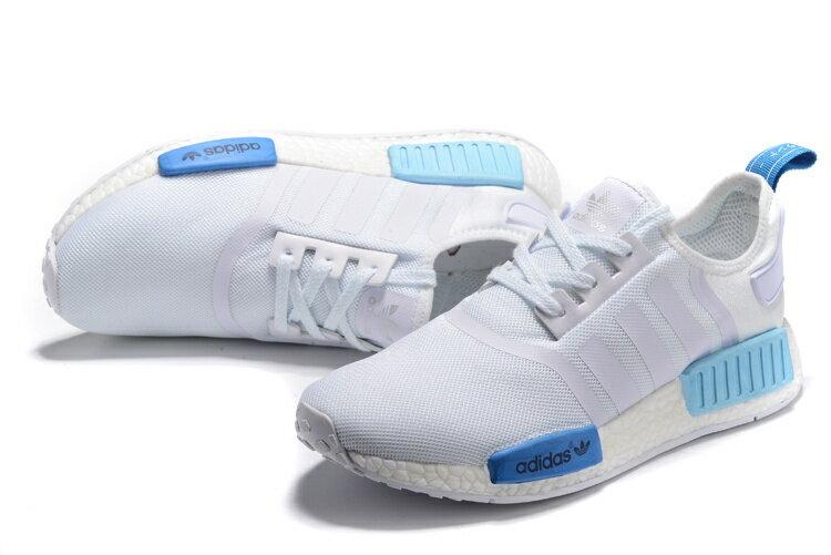 Adidas Originals NMD聖保羅 藍白 情侶款