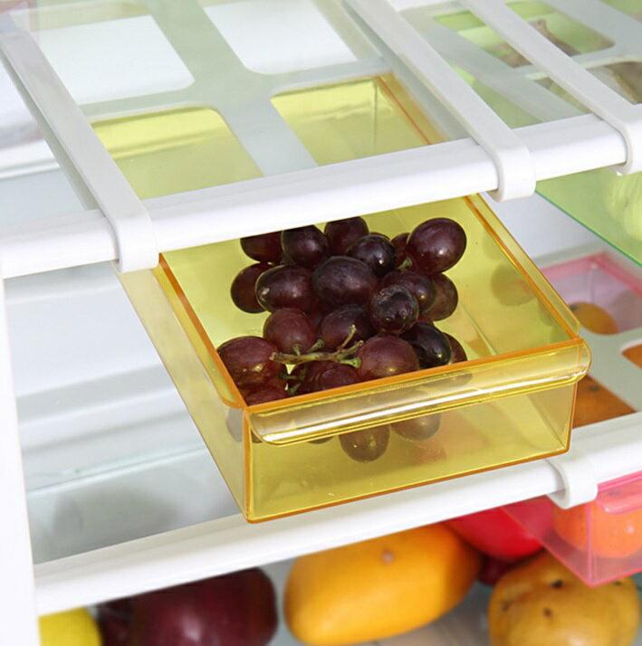 第二代 外銷日本冰箱保鮮隔板多用整理收納架 IF0490