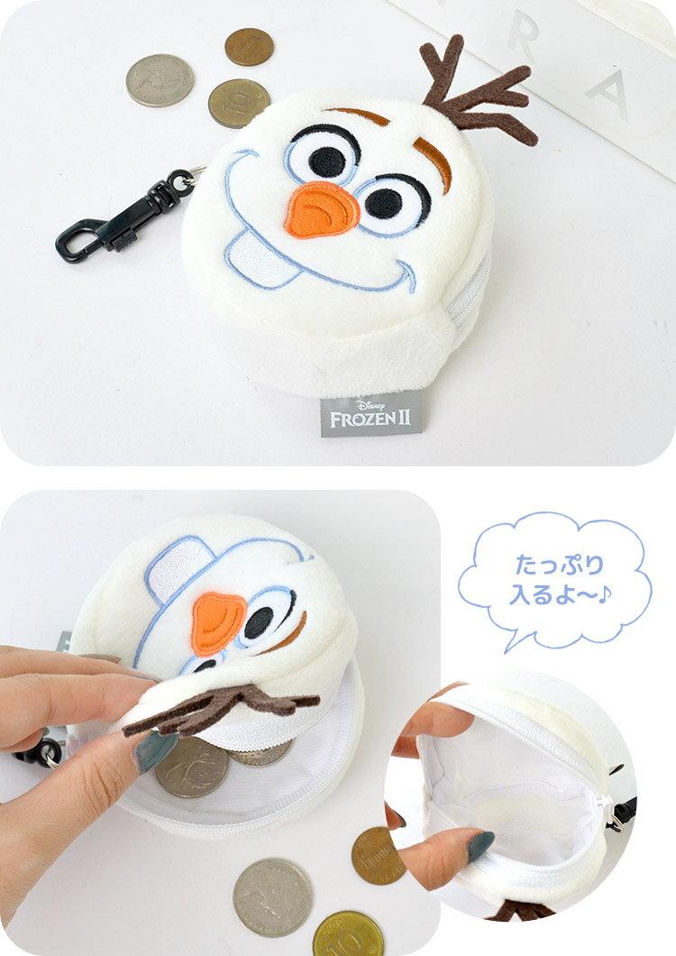 日本迪士尼 Disney Frozen 冰雪奇緣 雪寶 零錢包 小錢包 。-日本必買 日本樂天代購(1340) 3