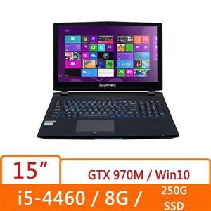 Genuine捷元 HSC15T3DW-8O行動宙斯機紀念版  G3258處理器(Intel 20週年紀念版CPU,可超頻),GTX970M 6GB獨顯,250G SSD硬碟、8G DDR3記憶體,配備Window 10 Home