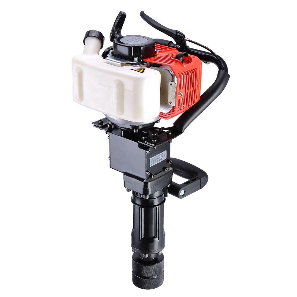 2in1 32.7cc Gasoline Demolition Jack Hammer Pile Piling Driver Chisel 2 Stroke w/ EPA Certification 3