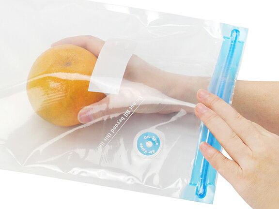 摩肯Dr.Save 真空保鮮袋組(S+L) (10入 / 組,不含主機) 食品收納 真空配件 1