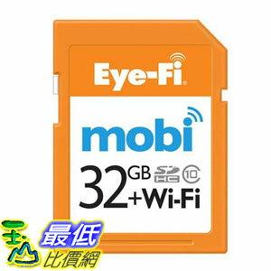 [106美國直購] Eye-Fi Mobi 32G 32GB 無線傳輸 記憶卡 eyefi