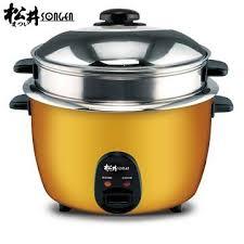 SONGEN松井-不銹鋼全能電鍋/電子鍋KR-1105(附蒸籠)(學生價990)最後五台