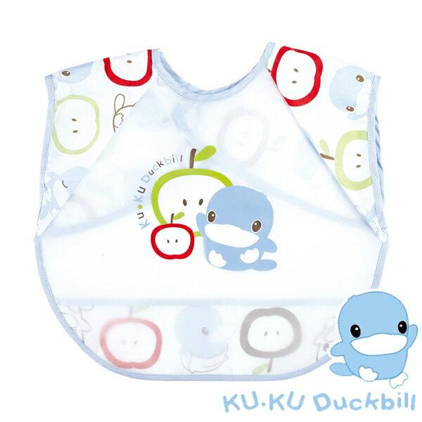 KUKU酷咕鴨繽紛防水背心式圍兜