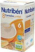 【安琪兒】西班牙【Nutriben 貝康】8種穀類營養麥精 600g